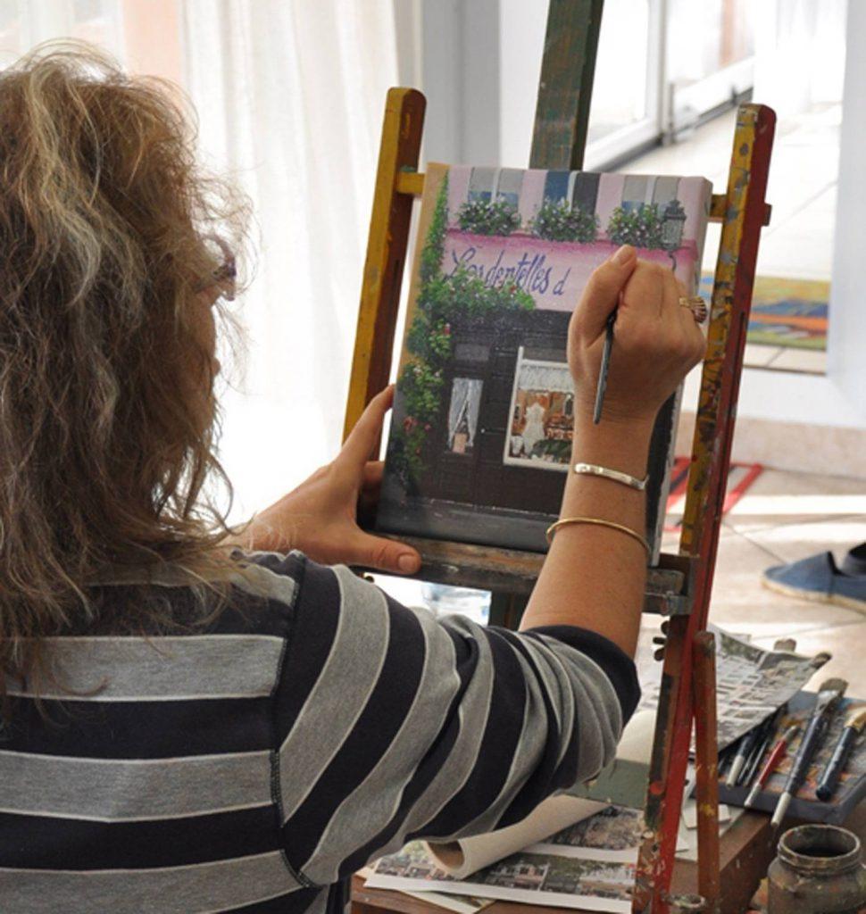 Artiste Peintre Naif Bruxelles
